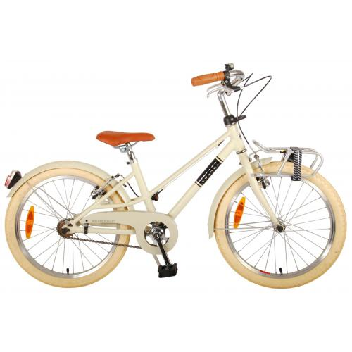 Volare Melody Children's bicycle - Girls - 20 inch - Sand - Two Handbrakes - Prime Collection