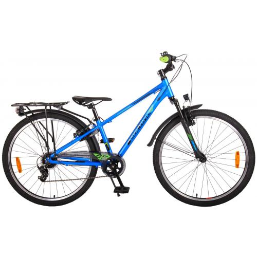 Volare Cross Children's Bicycle - Boys - 26 inch - Dark Blue - 7 gears - Prime Collection