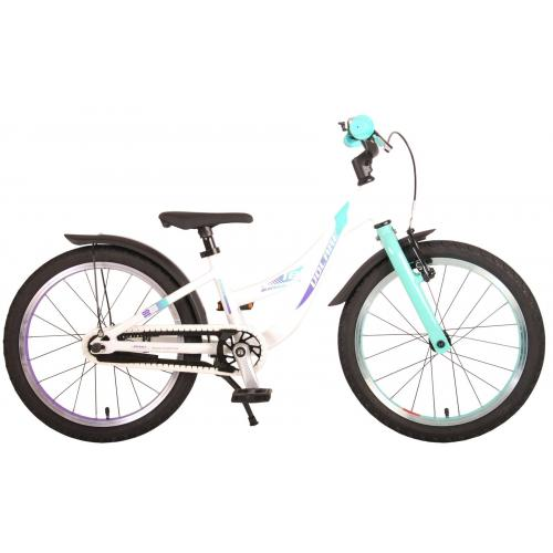 Volare Glamour Children's Bicycle - Girls - 18 inch - Pearl Mint Green - Prime Collection