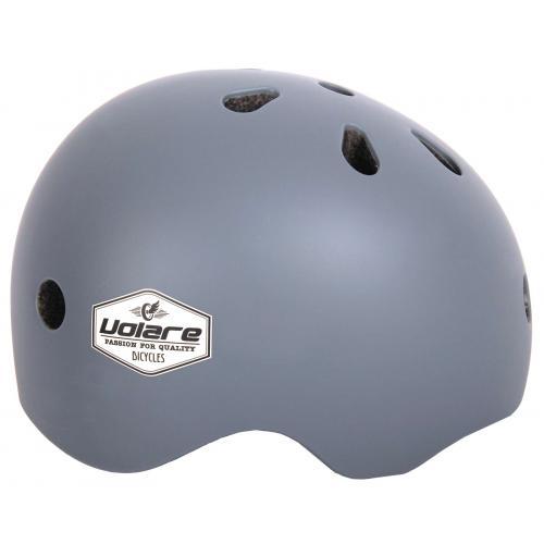 Volare Bicycle Helmet - Kids - Grey - 51-55 cm