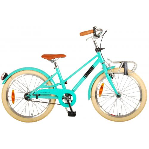 Volare Melody Children's bicycle - Girls - 20 inch - turquoise - Prime Collection