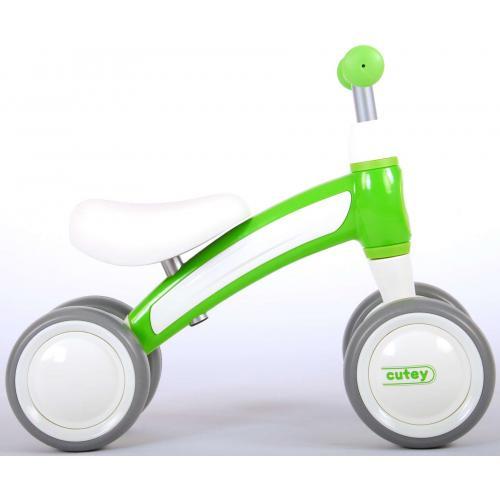 QPlay Cutey Ride On Walking Bike - Boys and Girls - Green