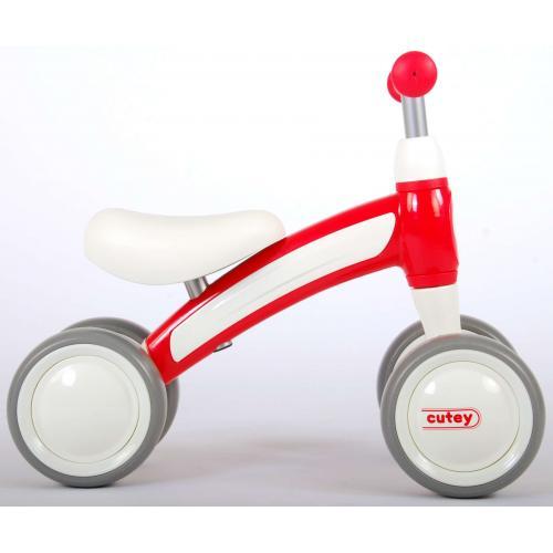 QPlay Cutey Ride On Walking Bike - Boys and Girls - Red