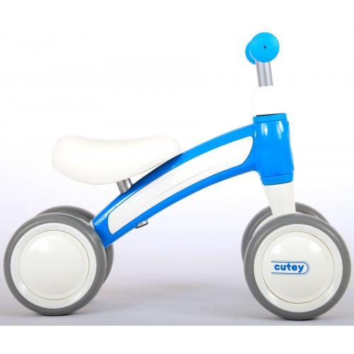 QPlay Cutey Ride On Walking Bike - Boys and Girls - Blue