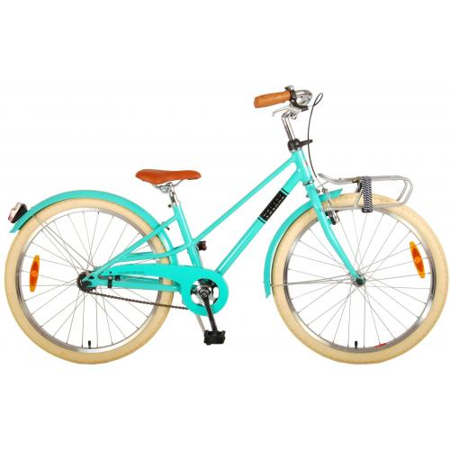 Volare Melody Children's bicycle - Girls - 24 inch - Turquoise - Prime Collection