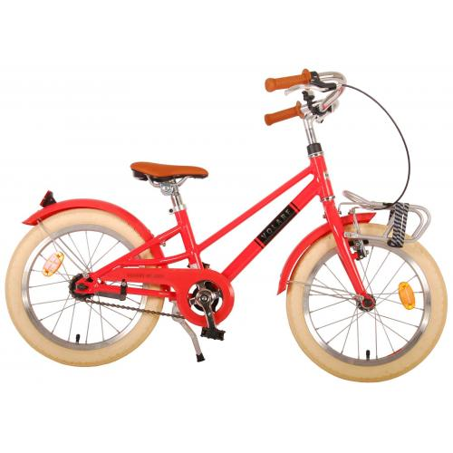 Volare Melody Children's bicycle - Girls - 16 inch - pastel red - Prime Collection