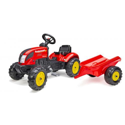 Falk Country Farmer - Boys - Red - Tractor