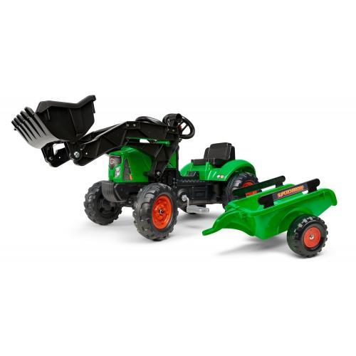 Falk Supercharger - Green - Tractor - Boys