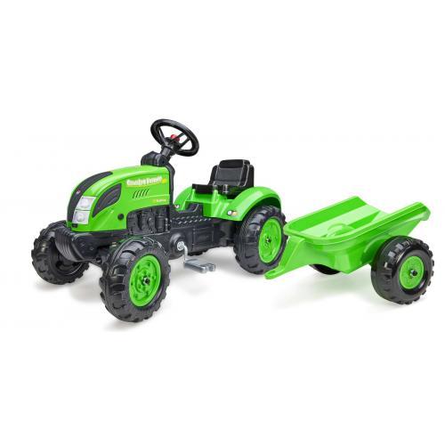 Falk Country Farmer - Boys - Green - Tractor