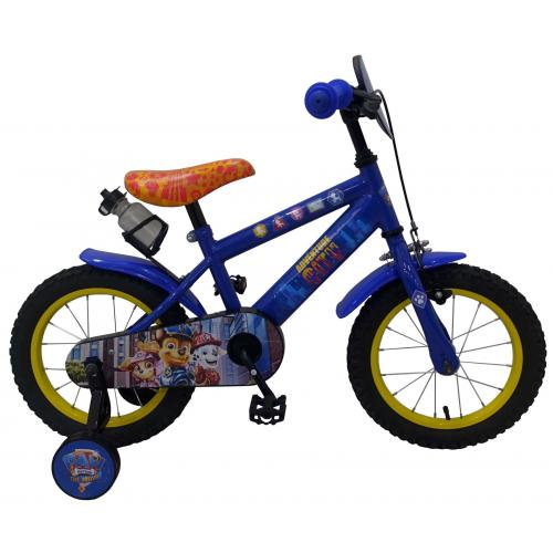 Paw Patrol Children's Bicycle - Boys - 14 inch - Red Blue - 95% assembled