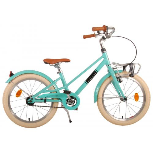 Volare Melody Children's bicycle - Girls - 18 inch - Turquoise - Prime Collection