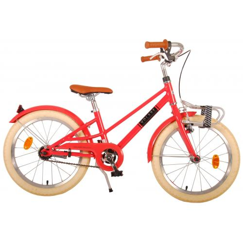 Volare Melody Children's bicycle - Girls - 18 inch - Pastel Red - Prime Collection