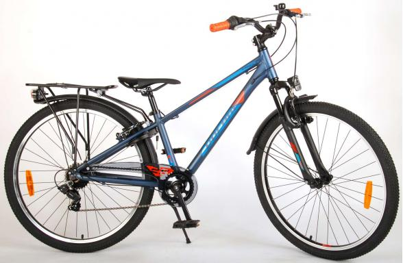 Volare Cross Children's Bicycle - Boys - 26 inch - Blue Green - 7 gears - Prime Collection