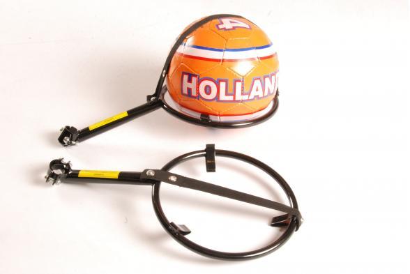Footballcarrier - For bikes from 16 inch - Black
