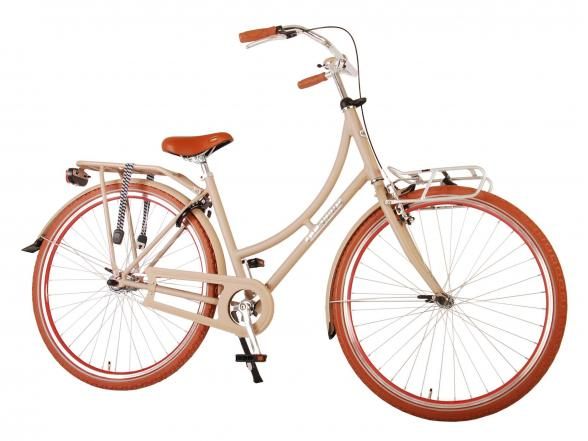 Volare Classic Oma Women's bicycle - 28 inch - 45 centimeters - Pastel Blue
