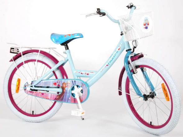 Disney Frozen 2 Children's Bicycle - Girls - 20 inch - Blue / Purple