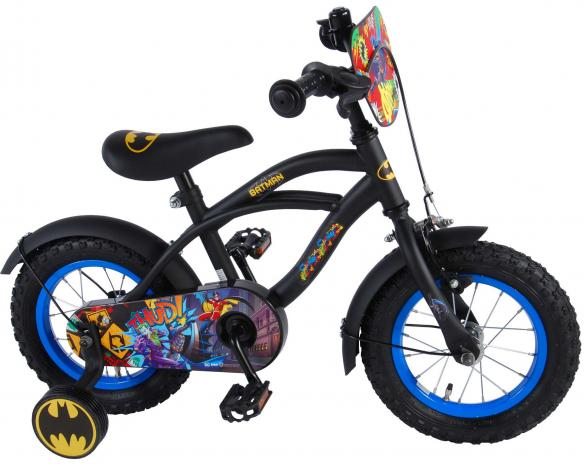 Batman Children's Bicycle - Boys - 12 inch - Black