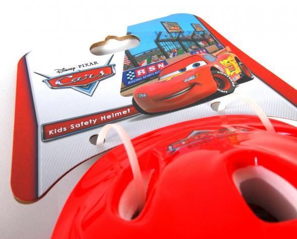 Disney Cars children's bicycle helmet - Skate helmet 51-55 cm
