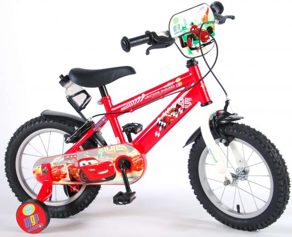 Disney Cars 14 inch boys bike with 2 handbrakes