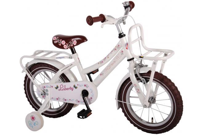 Yipeeh Liberty Urban White 14 inch girls bicycle