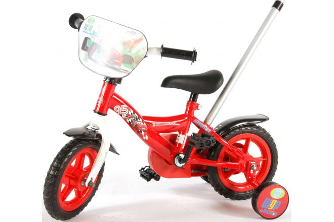 Disney Cars Children's Bicycle - Boys - 10 inch - Red