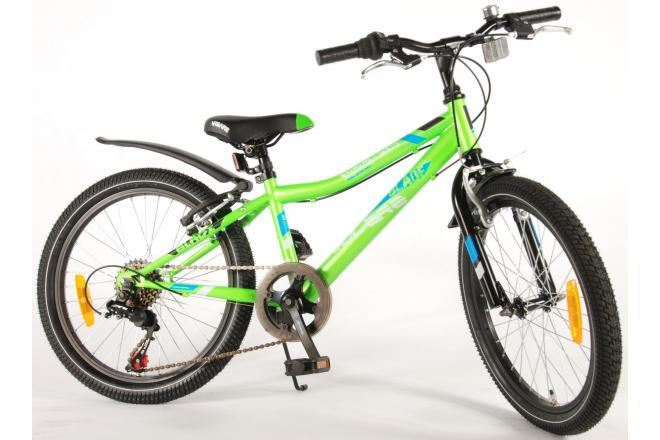 Volare Blade 20 inch Green 6 speed boys bicycle 95% assembled