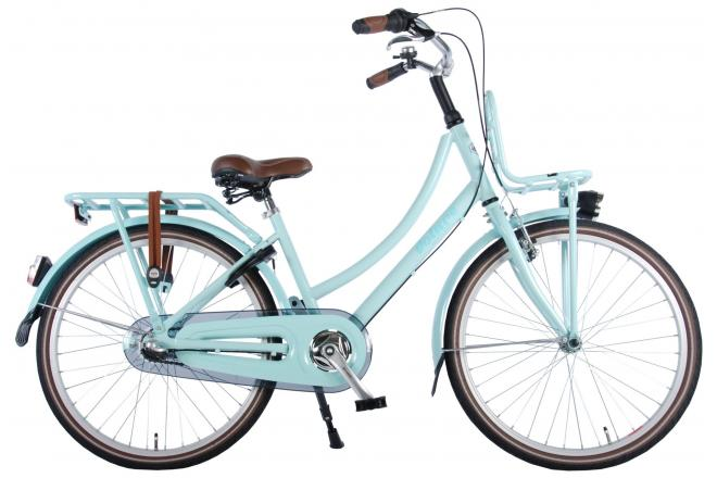 Volare Excellent Children's Bicycle - Girls - 24 inch - Mint Blue - Shimano Nexus 3 gears - 95% assembled