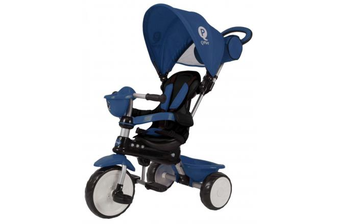 QPlay Tricycle Comfort Dark Blue 4 in 1