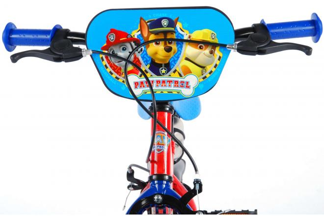 Paw Patrol Children's Bicycle - Boys - 12 inch - Red / Blue - 2 hand brakes