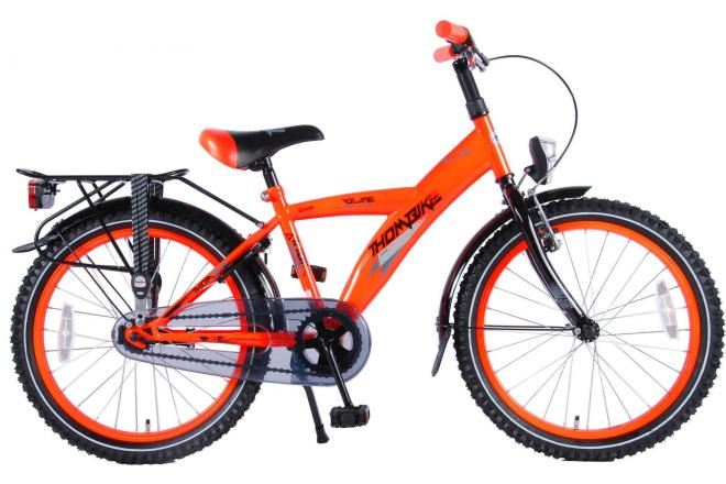 Volare Thombike City Children's Bicycle - Boys - 20 inch - Neon Orange - 95% assembled