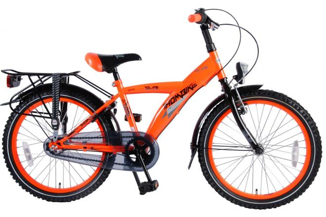 Volare Thombike City Children's Bicycle - Boys - 20 inch - Neon Orange - Shimano Nexus 3 gears - 95% assembled