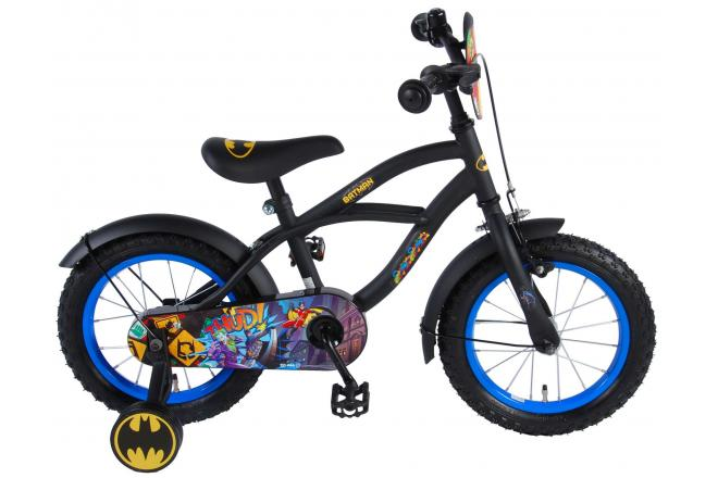 Batman Children's Bicycle - Boys - 14 inch - Black