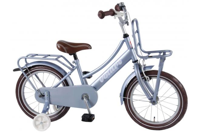 Volare Excellent Children's Bicycle - Girls - 16 inch - Sky Blue - 95% assembled