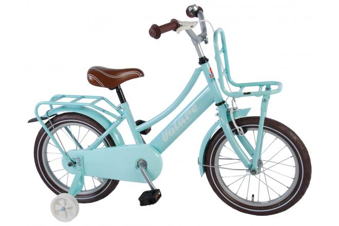 Volare Excellent Children's Bicycle - Girls - 16 inch - Mint Blue - 95% assembled