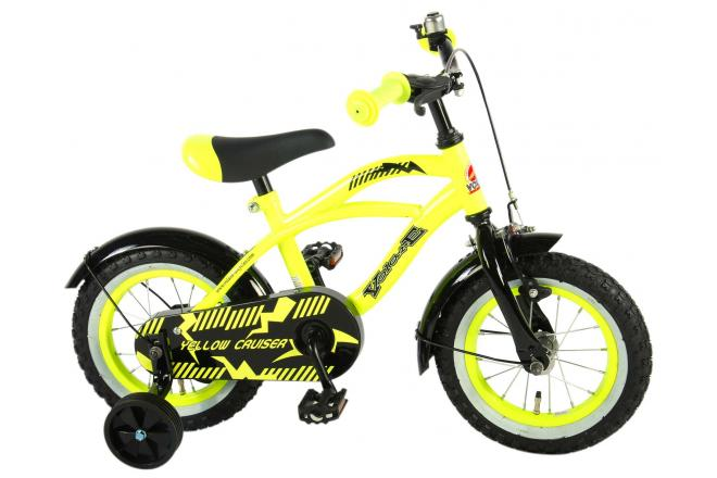 Volare Yellow Cruiser 12 inch Boys Bicycle
