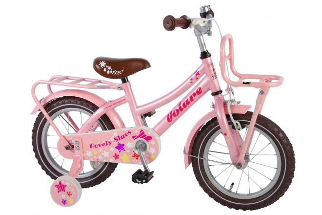 Volare Lovely Stars 14 inch girls bicycle 95% assembled
