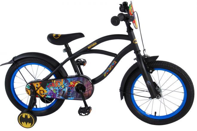 Batman Children's Bicycle - Boys - 16 inch - Black