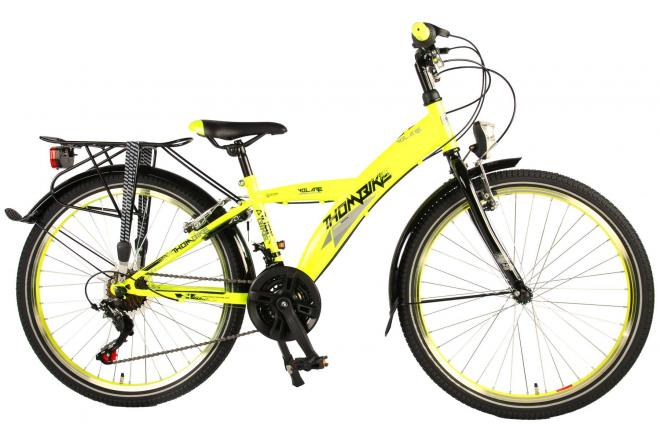 Volare Thombike City Shimano 21 speed 24 inch boys bicycle 95% assembled