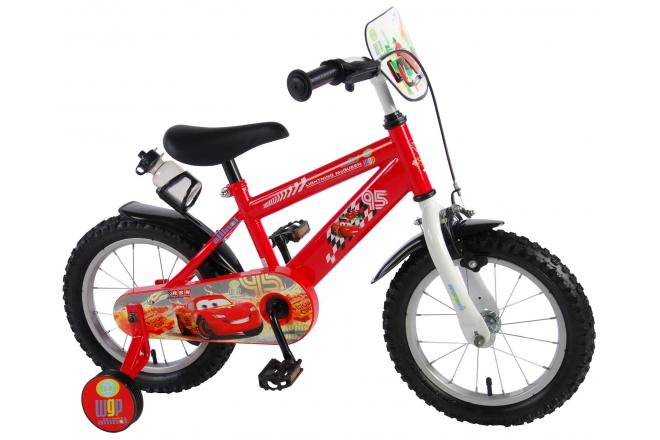 Disney Cars Children's Bicycle - Boys - 14 inch - Red