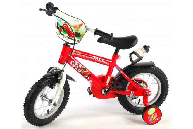 Disney Cars Children's Bicycle - Boys - 12 inch - Red