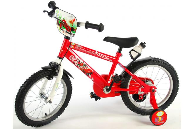 Disney Cars Children's Bicycle - Boys - 16 inch - Red