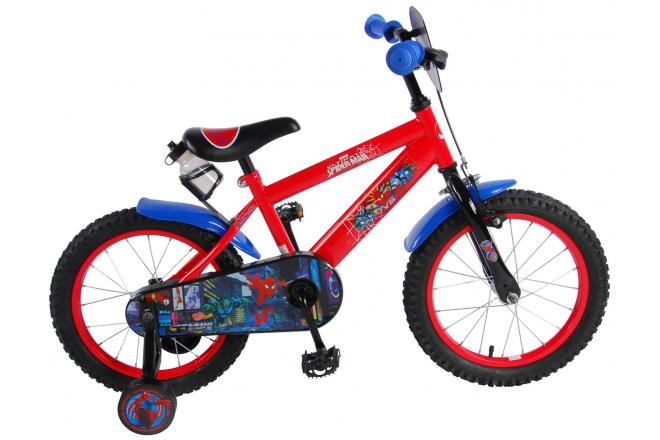 Ultimate Spider-Man Children's Bicycle - Boys - 16 inch - Red Black