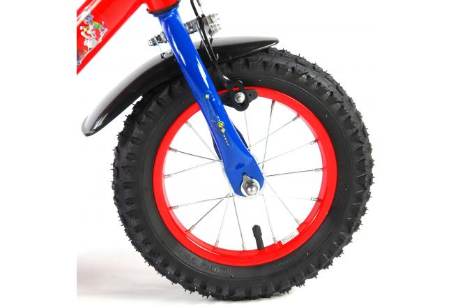 Paw Patrol Children's Bicycle - Boys - 12 inch - Red / Blue