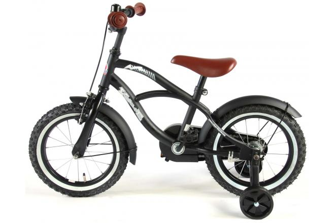 Volare Black Cruiser 14 inch boys bicycle 95% assembled