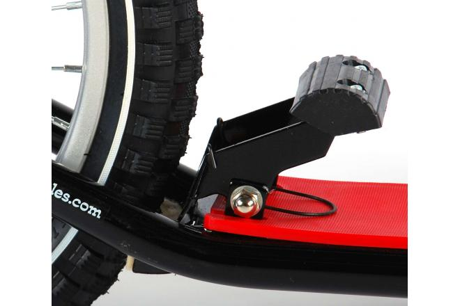 Volare Scooter 16 inch Black Red