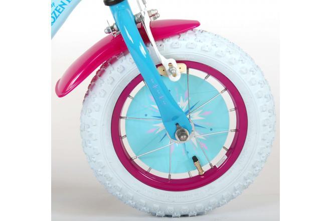 Disney Frozen 2 Children's Bicycle - Girls - 12 inch - Blue / Purple - 95% assembled