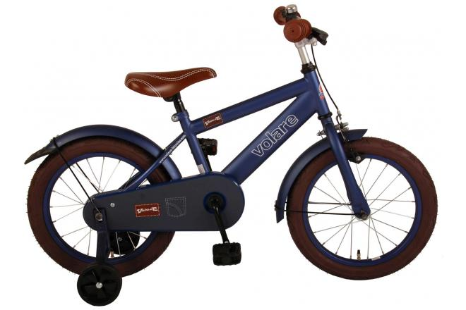 Volare Urban City Children's Bicycle - Boys - 16 inch - Dark Blue - 95% assembled