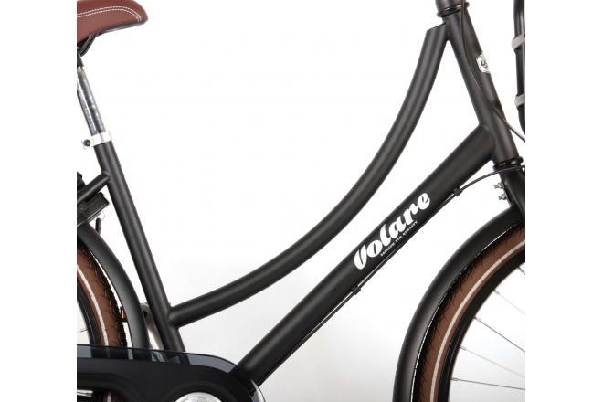 Volare Excellent Children's Bicycle - Unisex - 26 inch - Black - Shimano Nexus 3 gears - 95% assembled