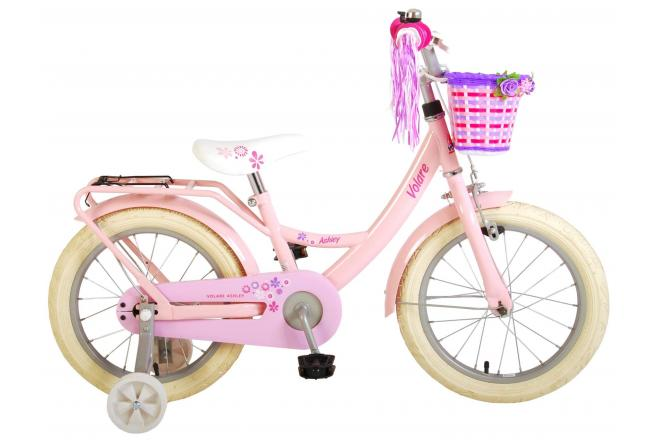 Volare Ashley Children's bicycle - Girls - 16 inch - Pink - 95% assembled