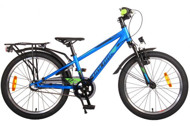 Volare Cross Children's bike - boys - 20 inch - Blue Green - Shimano Nexus 3 gears - Prime Collection